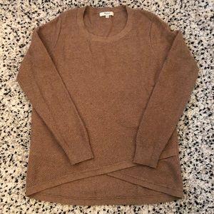 Madewell Sweater, Tan, Size Small